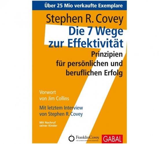 Buchcover 7 Wege zur Effektivität