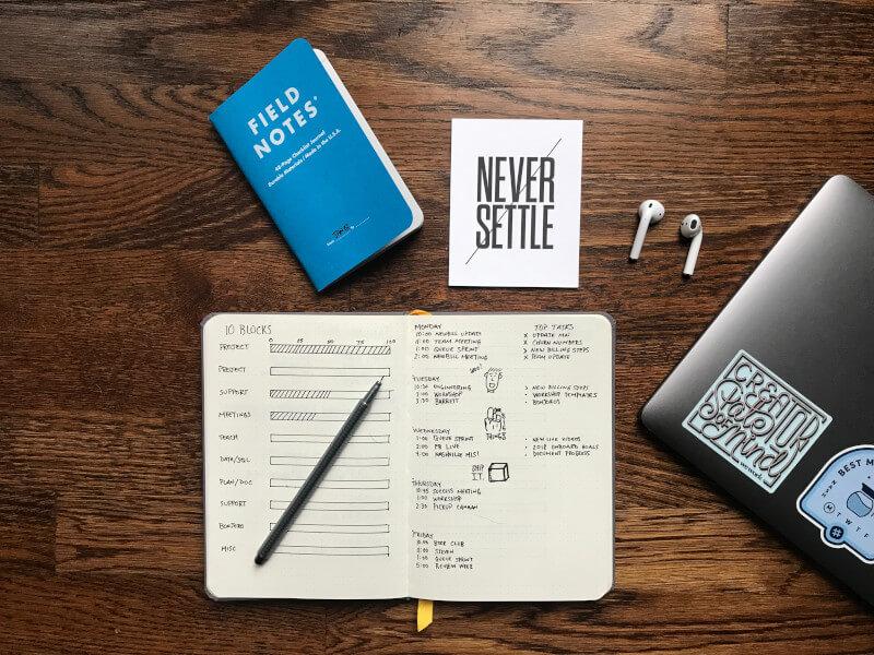 Deine Ziele 2017 Planer