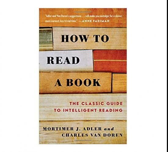How to read a book - Cover