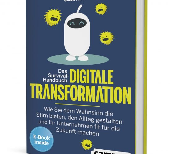 Buchcover Survival Handbuch - Digitale Transformation